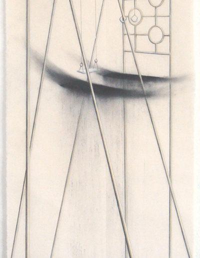 PLEIN AIR (BANÇOIRE), 87 X 42 cm