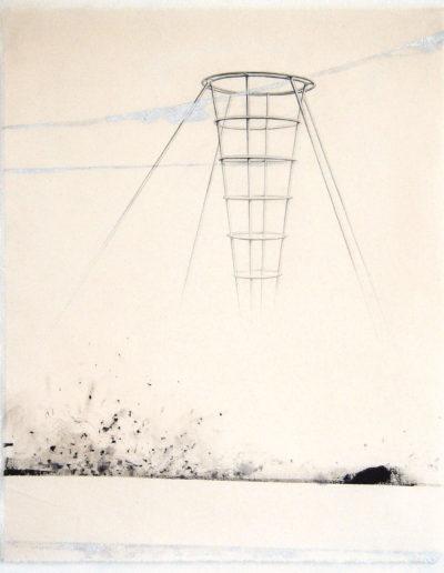 PLEN AIR (CÔNE),  71 x 57 cm.