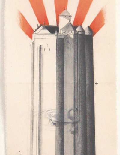 CHATEAU, 60 x 22 CM