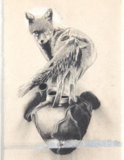 RENARD, 51 x 27 cm