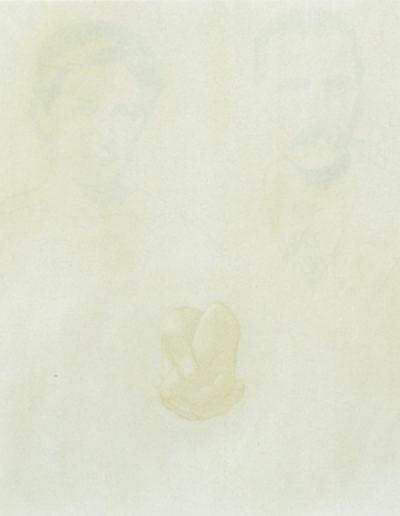 STE-ÉTHIQUE 2, 1998. Huile sur toile 80 x 80 cm.