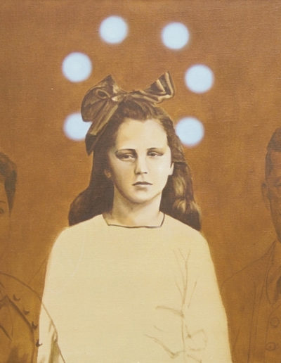 STE-ÉTHIQUE 2, 1998. Huile sur toile 73 x 92 cm.
