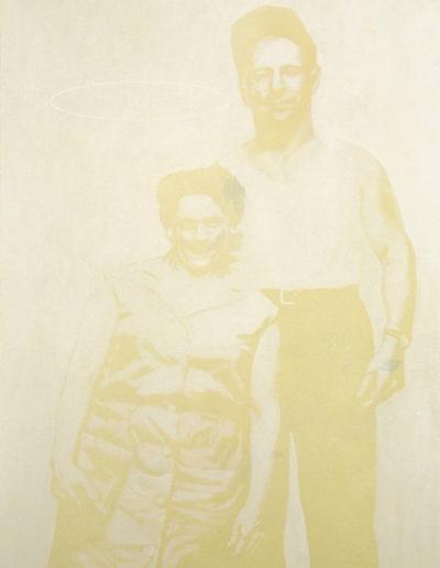 STE-ÉTHIQUE 3, 1998. Huile sur toile 150 x 110 cm.