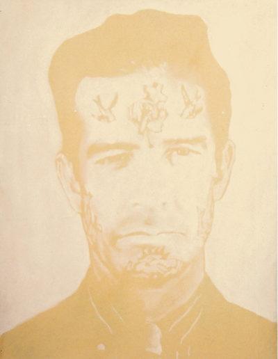 STE-ÉTHIQUE 4, 1998. Huile sur toile 60 x 46 cm.