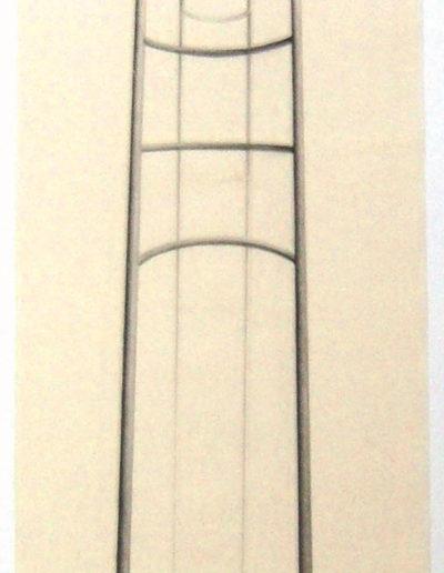 PLEIN AIR (arc),  89 x 25 cm.
