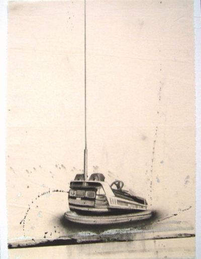 PLEIN AIR (AUTOTAMPONNEUSE), 57 x 41 cm