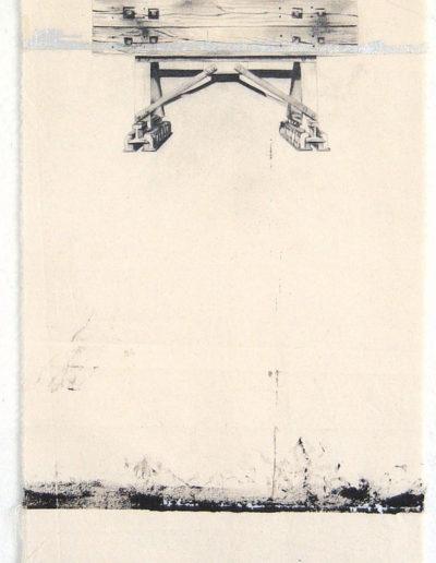 BUTOIR,  81 x 38 cm.